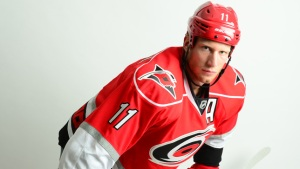 Jordan Staal is my favorite NHLer. But this will never be okay with me. But I completely understand it. (Phil Ellsworth/Carolina Hurricanes)