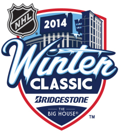 The NHL Winter Classic will take place on January 1, 2014.