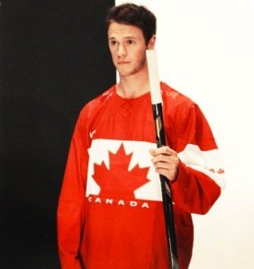 This photo of Canada's Olympic jersey surfaced on the interwebz last night. Looks legit. (Tumblr)