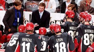 Wayne Gretzky hasn't been officially involved with the NHL since coaching the Phoenix Coyotes in 2009. (Getty Images)